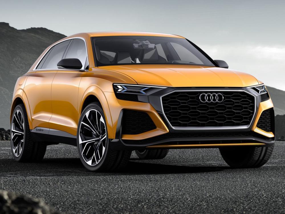 Bild zu Audi Q8 Sport Concept