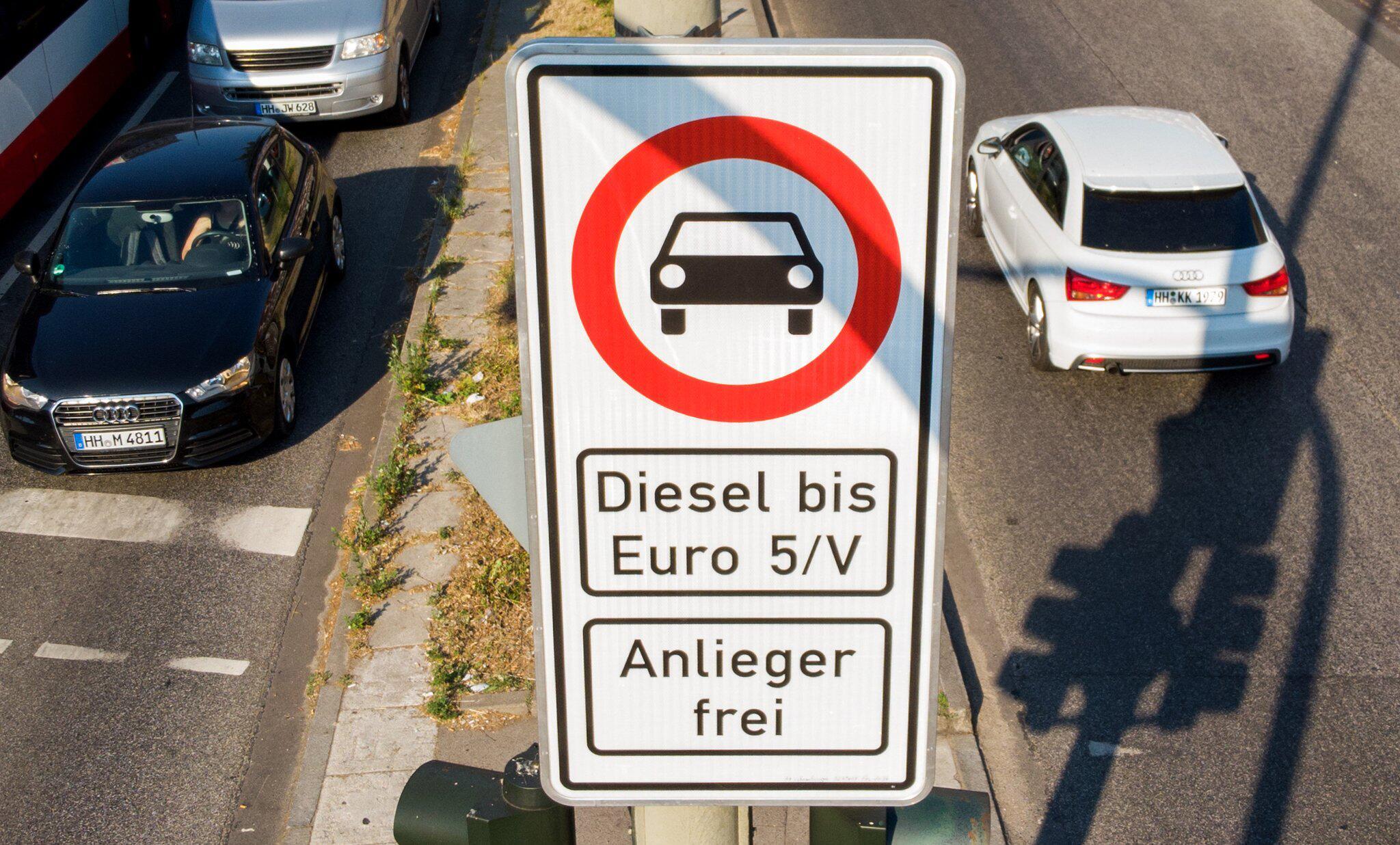 Bild zu Fahrverbot für bestimmte Diesel-Fahrzeuge