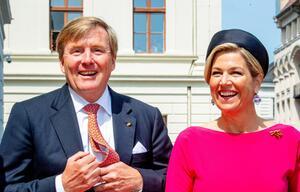 Niederländisches Königspaar auf Deutschlandbesuch