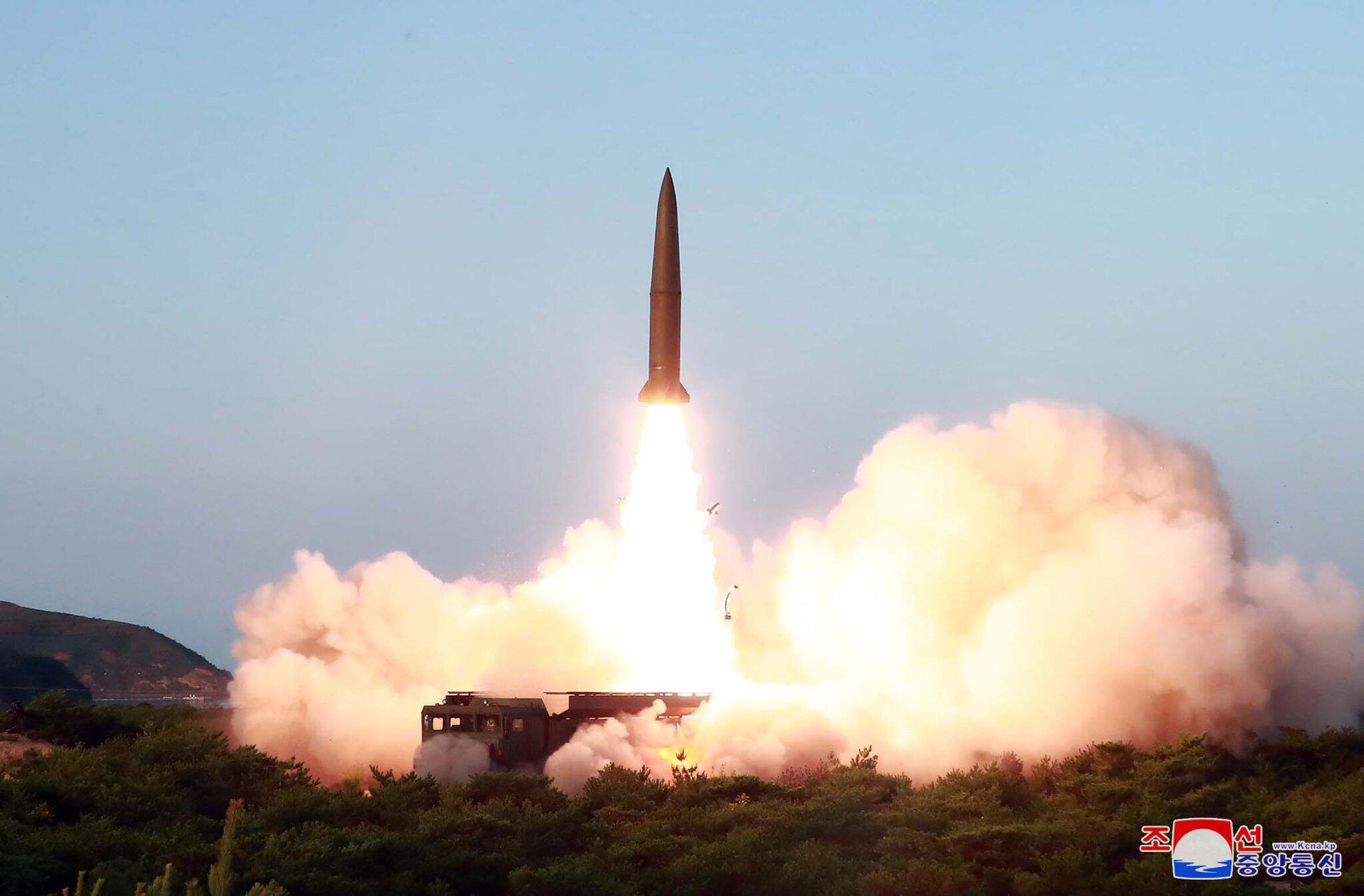 Bild zu Raketentest in Nordkorea
