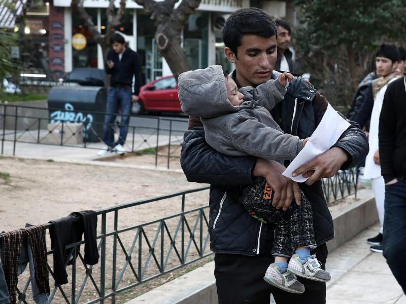 Bild zu Gestrandet in Athen