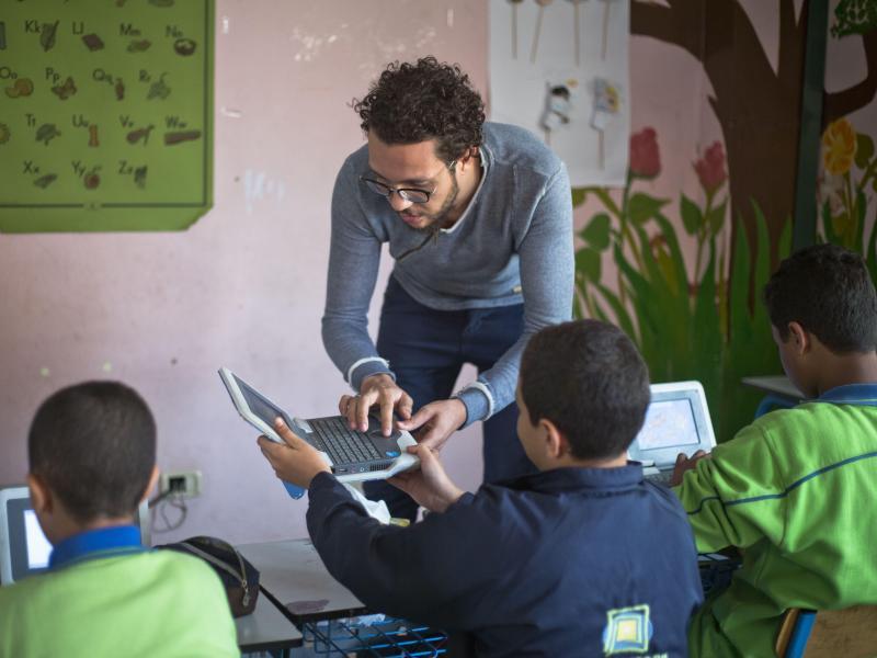 Bild zu Cira Schule in Ägypten