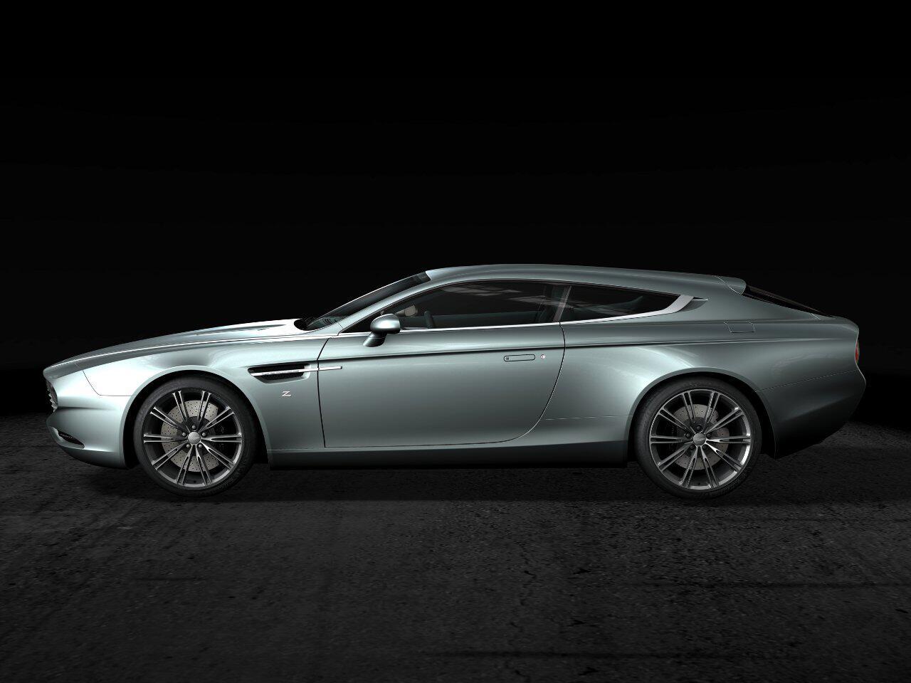 Bild zu Aston Martin Virage Shooting Brake von Zagato