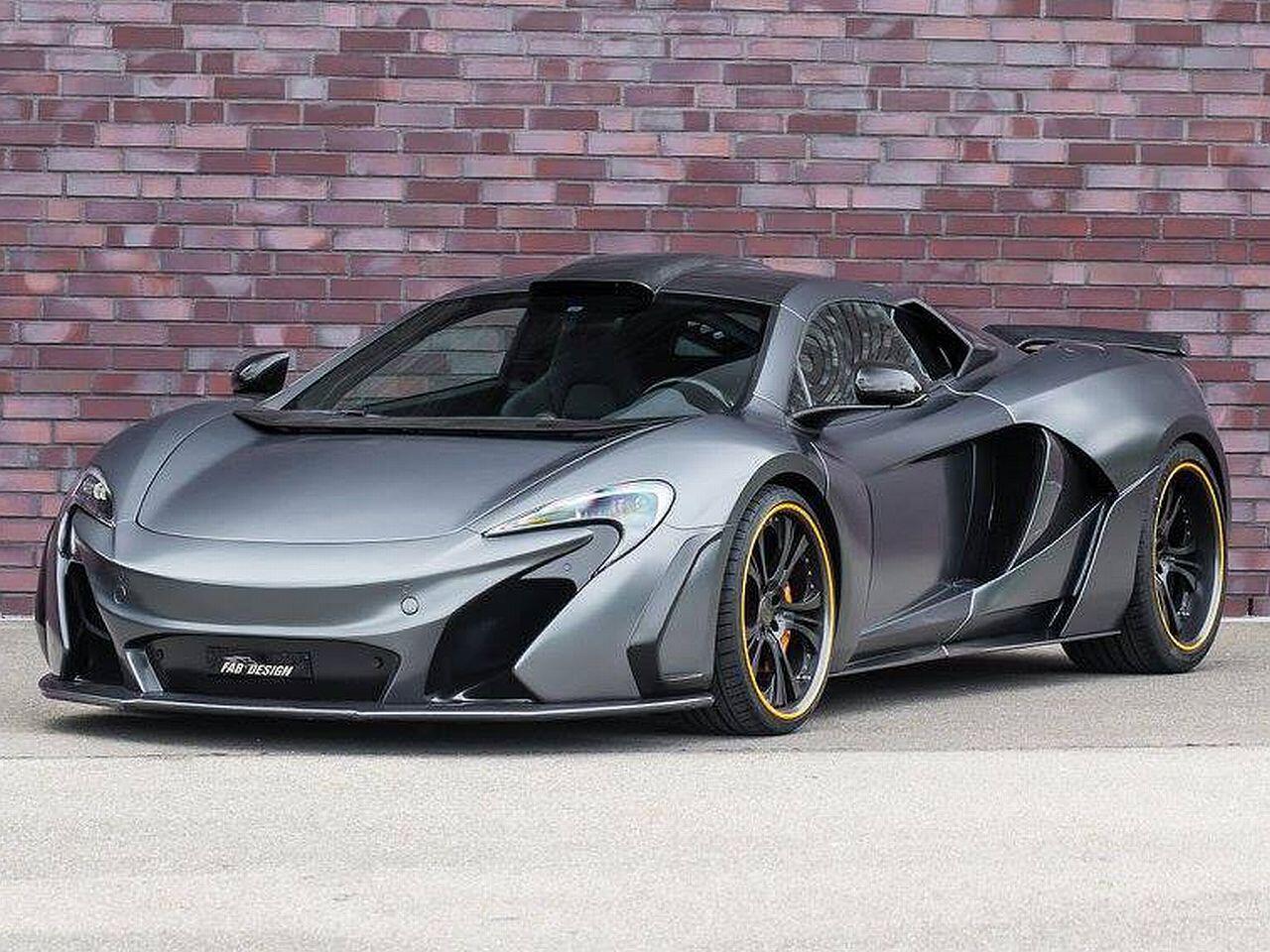 Bild zu McLaren 650S von FAB Design