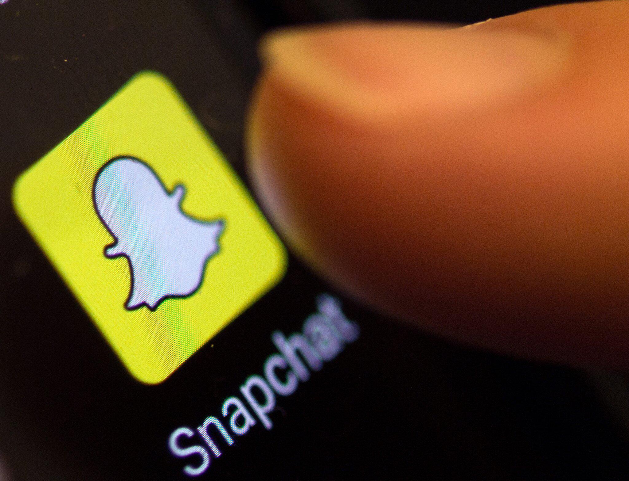 Bild zu Snapchat