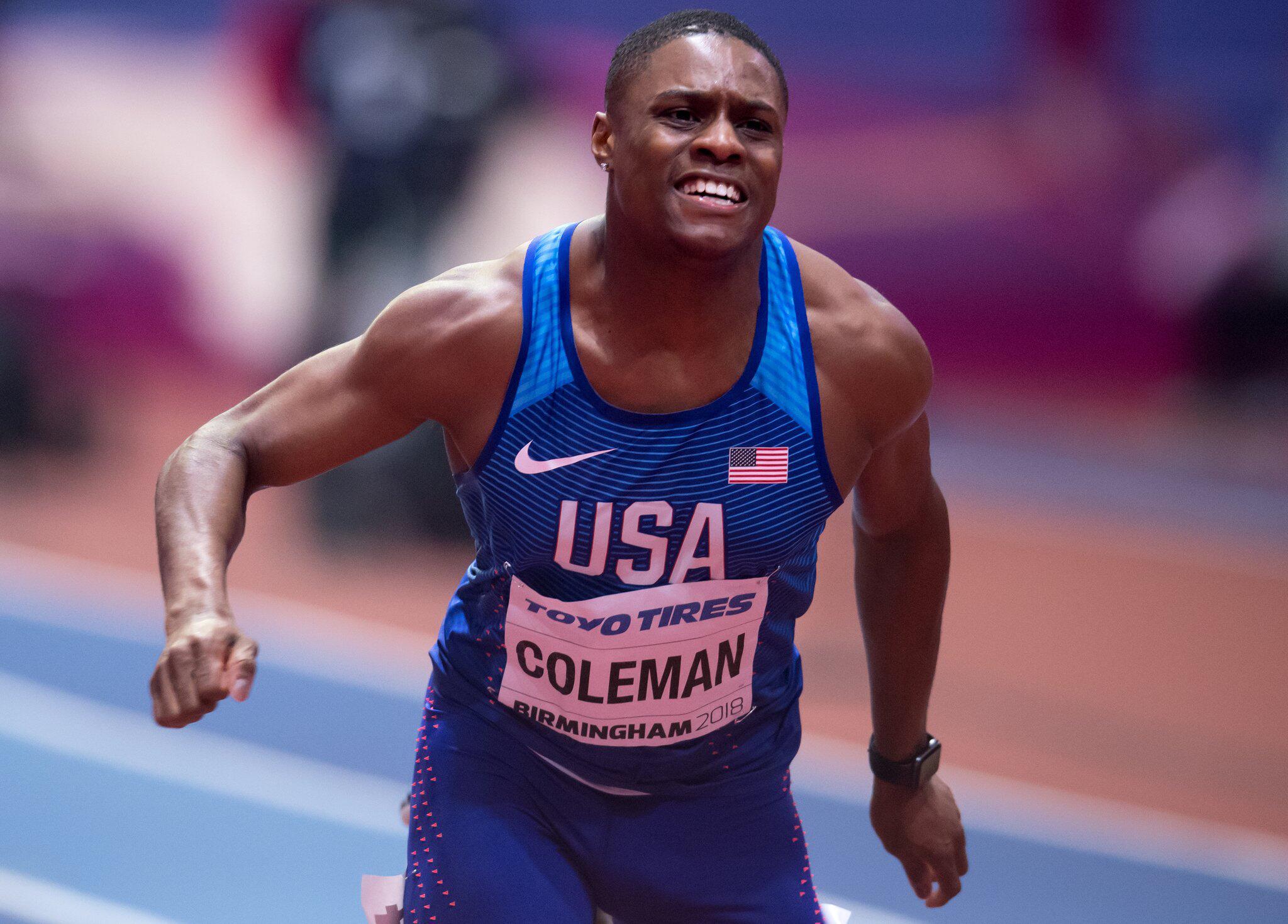 Bild zu US-Sprintstar Coleman