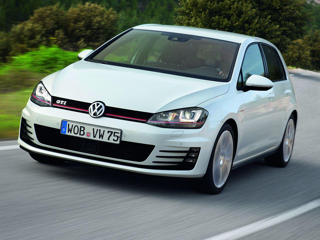 Bild zu Platz 6: VW Golf GTI