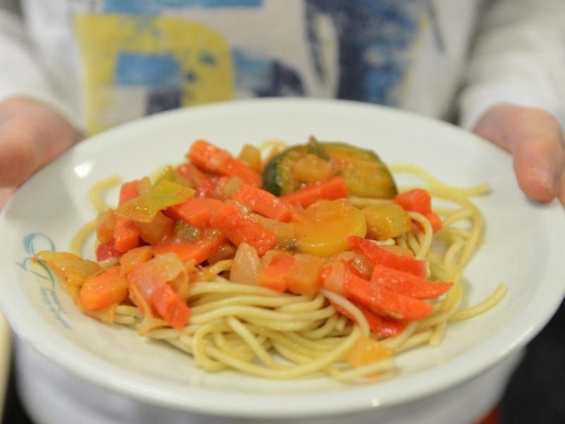 Bild zu Pasta mit Gemüse
