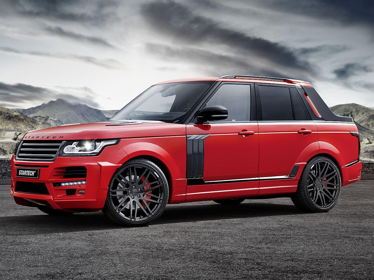Bild zu Pickup von Startech auf Range Rover-Basis