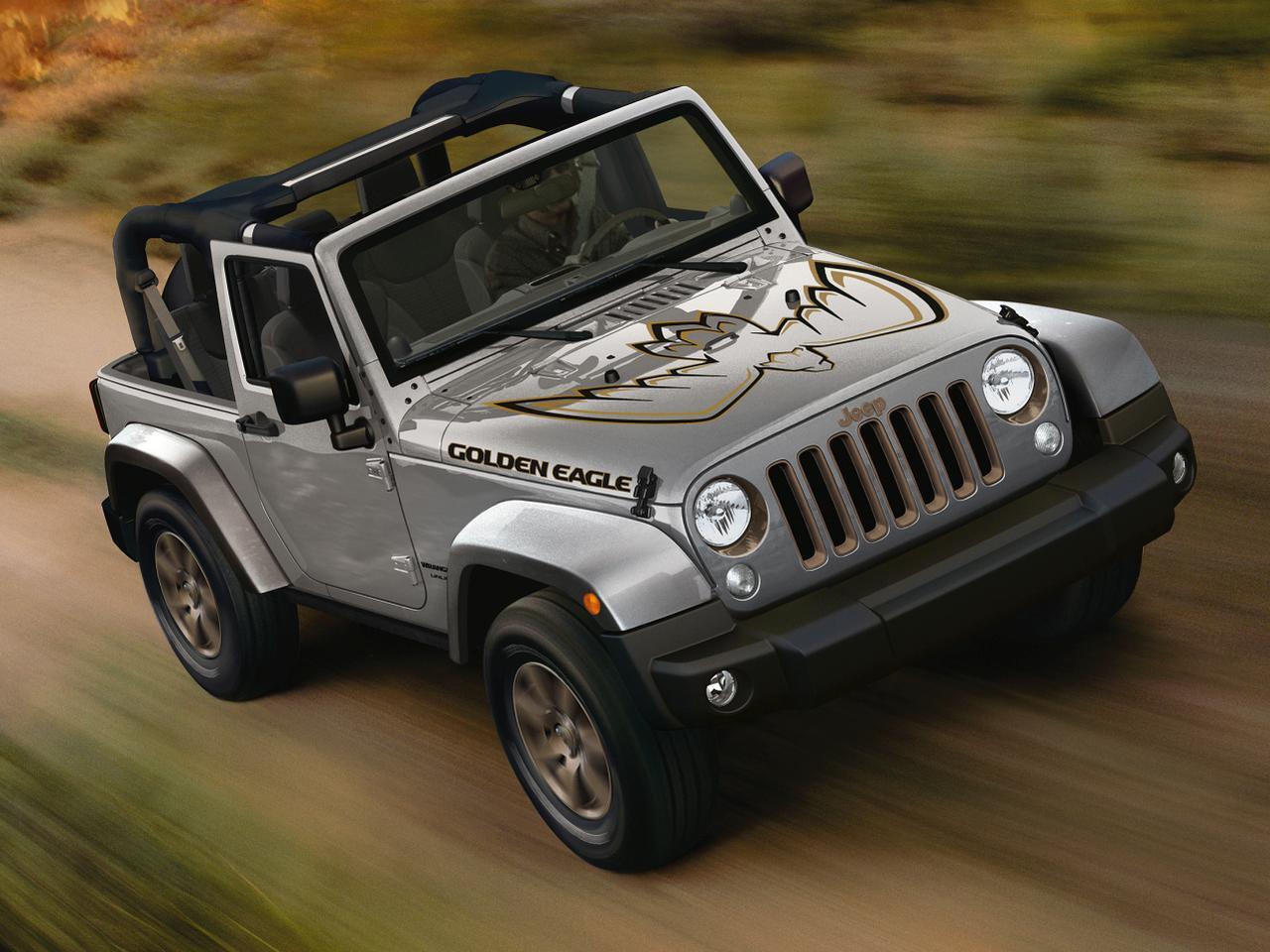 Bild zu Jeep Wrangler Golden Eagle