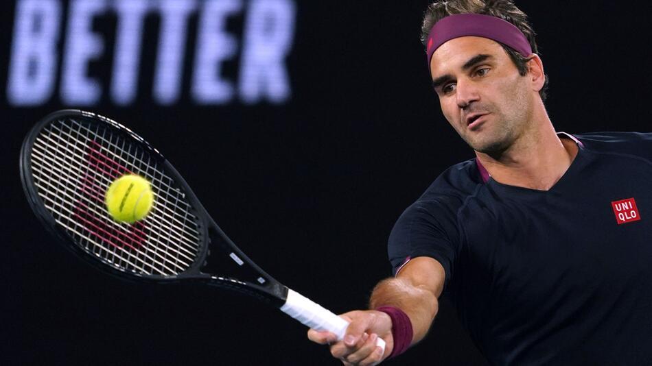 Tennisstar Federer spielt erst 2021 wieder