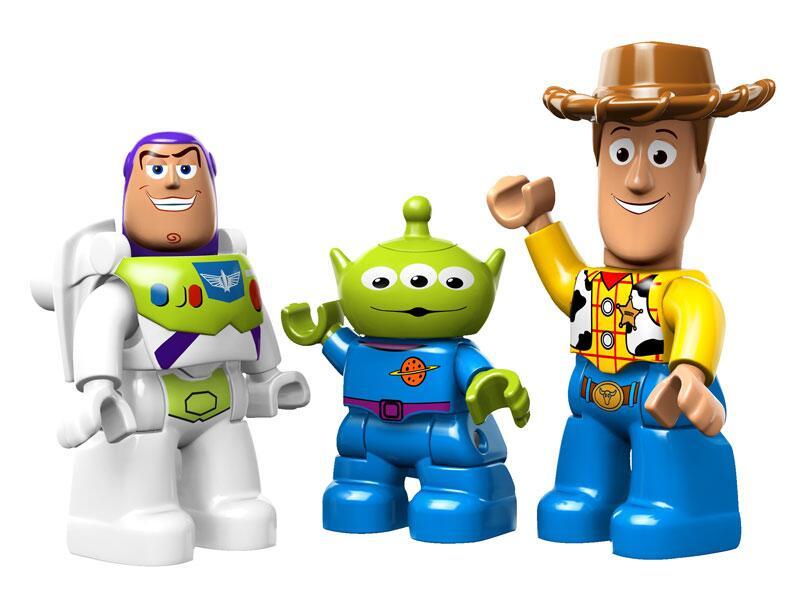 Bild zu Buzz, Alien und Woody