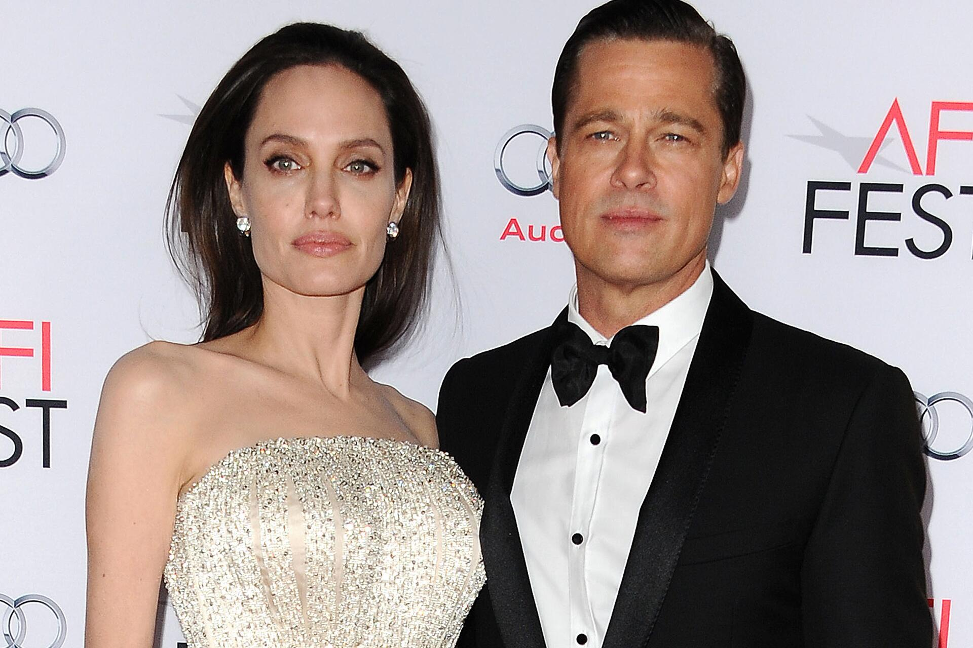 Bild zu Angelina Jolie, Brad Pitt