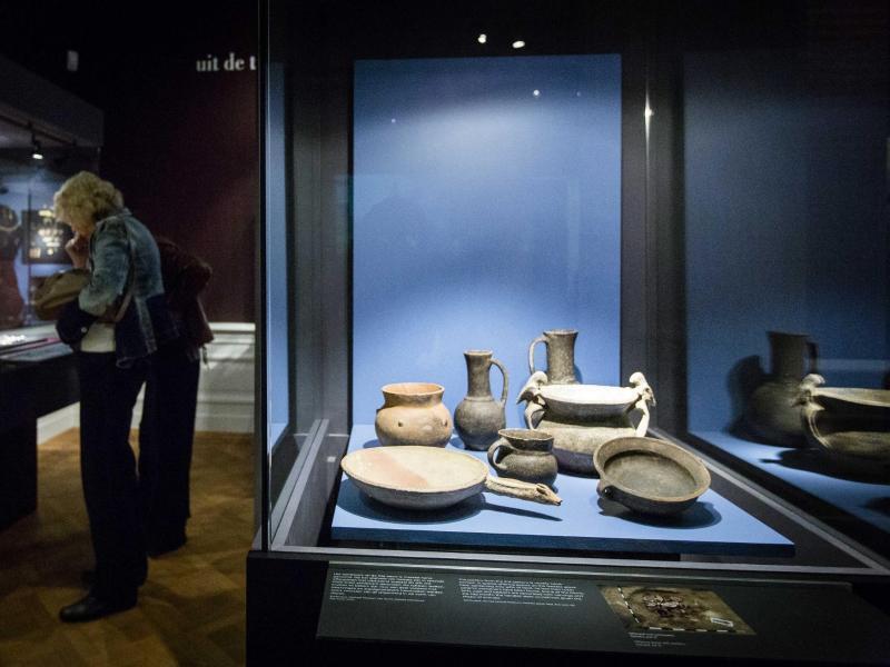 Bild zu Goldschätze der Krim in Amsterdamer Museum