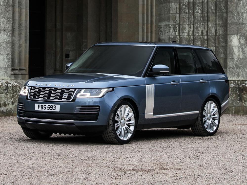 Bild zu Range Rover Facelift 2018: Geschärfte Linienführung und erstmals als Hybrid