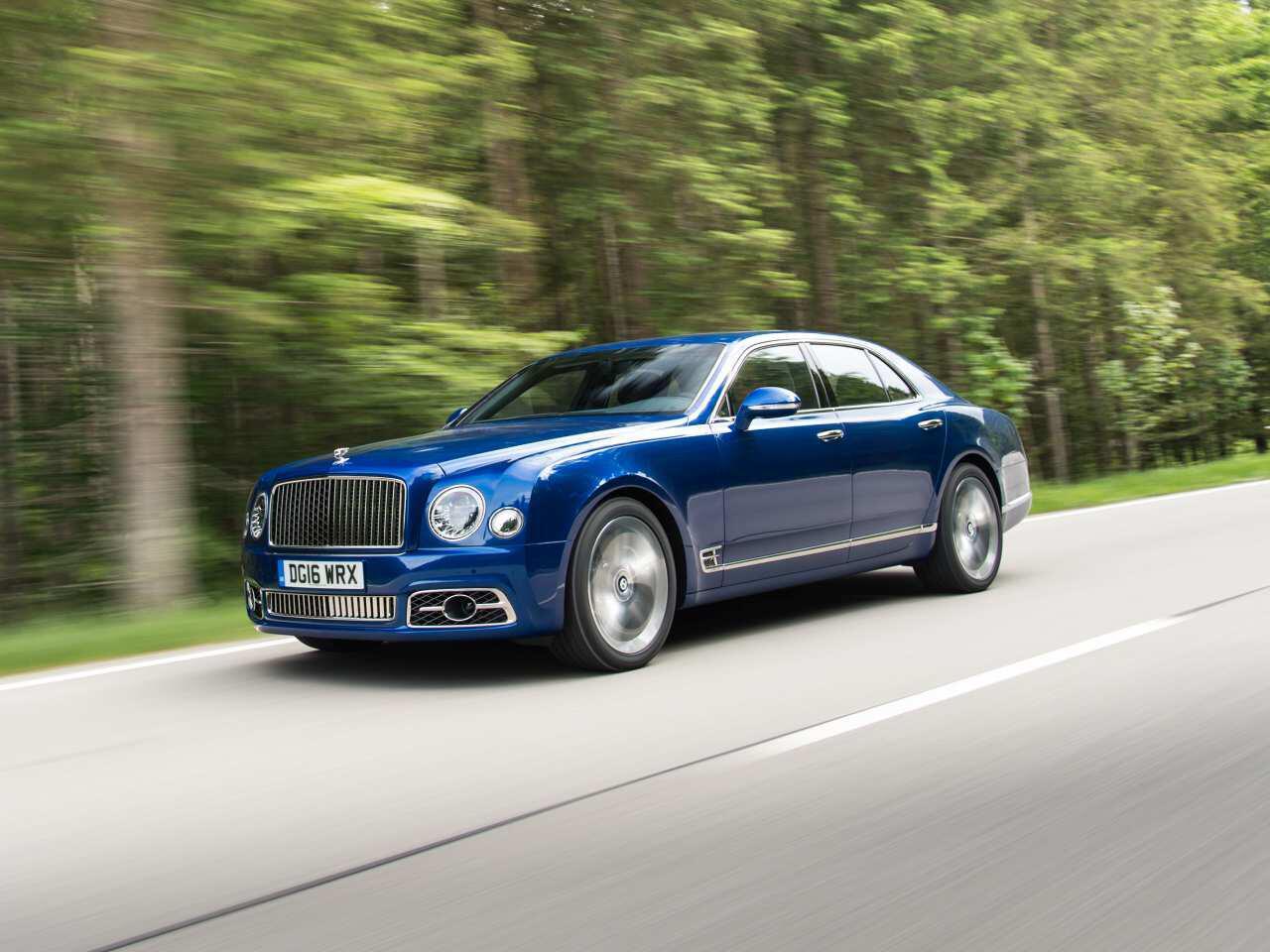 Bild zu Bentley Mulsanne Speed