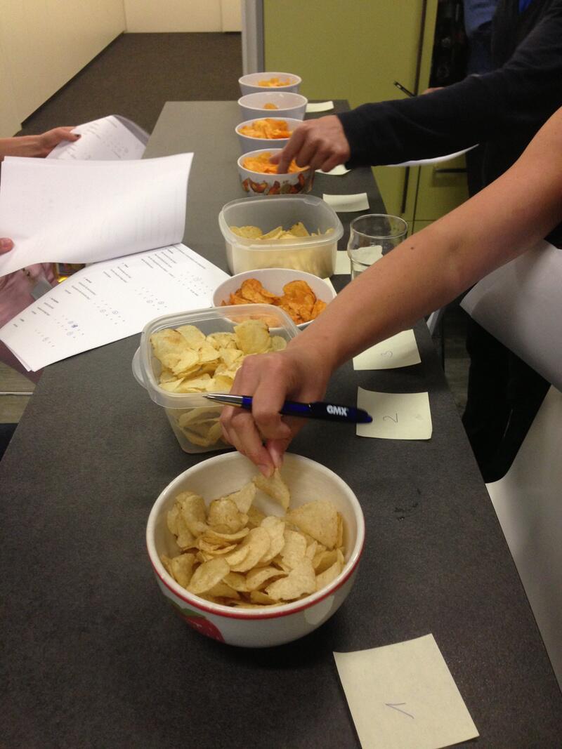Bild zu Testessen Chips