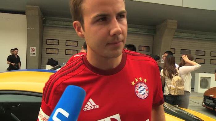 Bild zu Bleibst du sicher beim FC Bayern, Mario?
