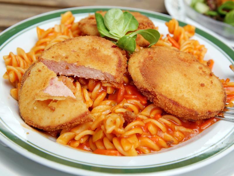 Bild zu Jagdwurst mit Pasta