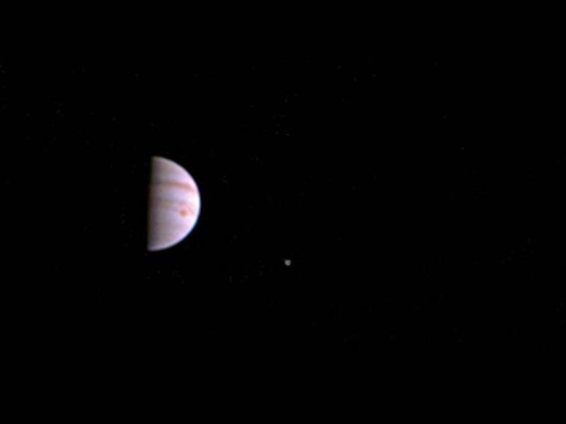 Bild zu Jupiter mit Monden