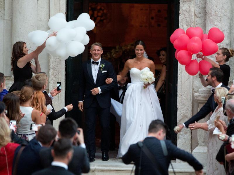 Bild zu Schweinsteiger-Hochzeit in Venedig