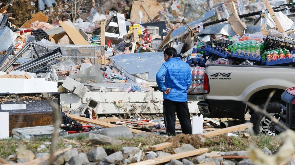 Nach Tornado im US-Staat Tennessee