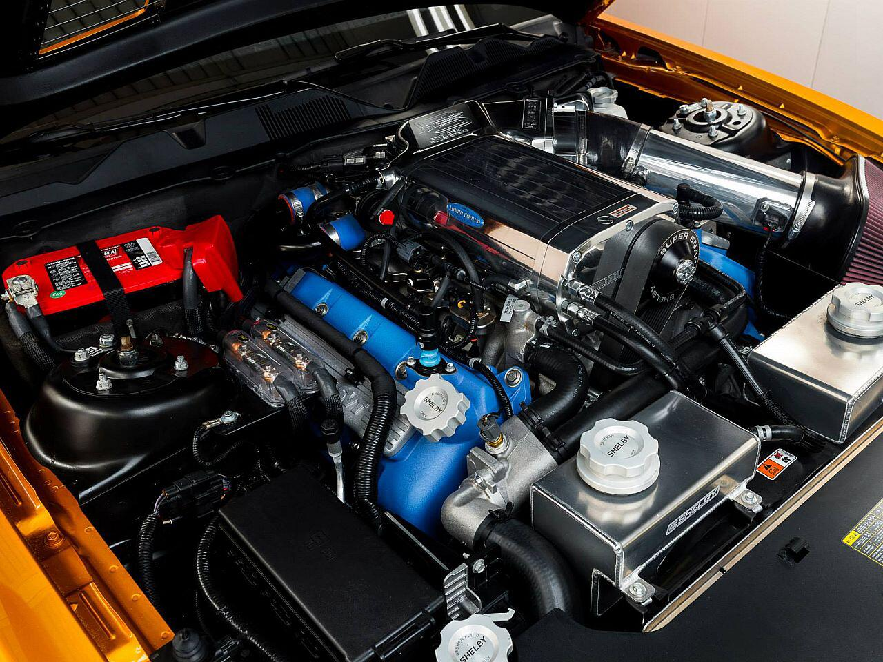 Bild zu Unter der Haube des Shelby GT500 Super Snake blieb alles beim Alten