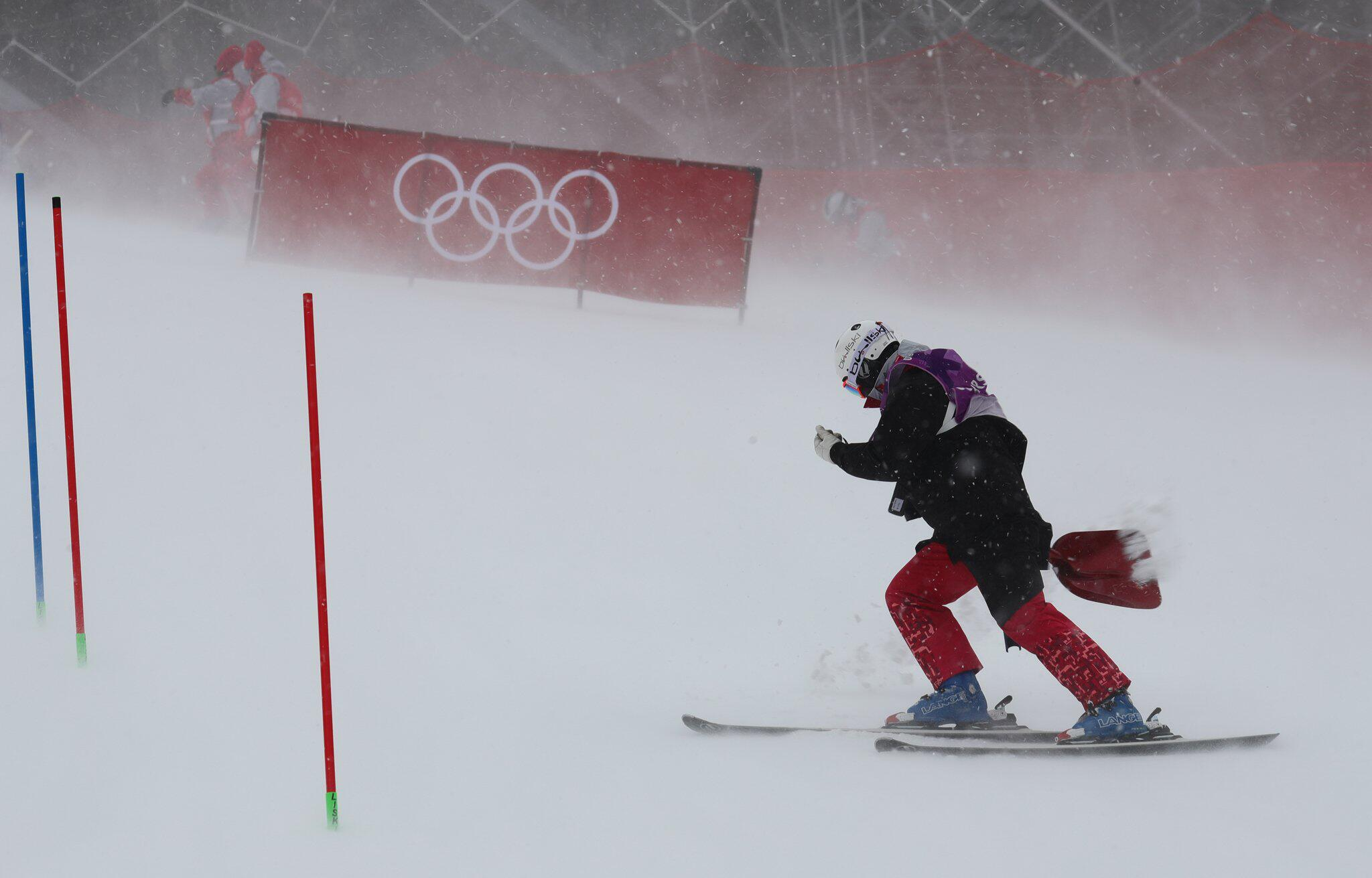 Slalom der Damen bei Olympia 2018 auch verschoben - Zeitplan immer ...
