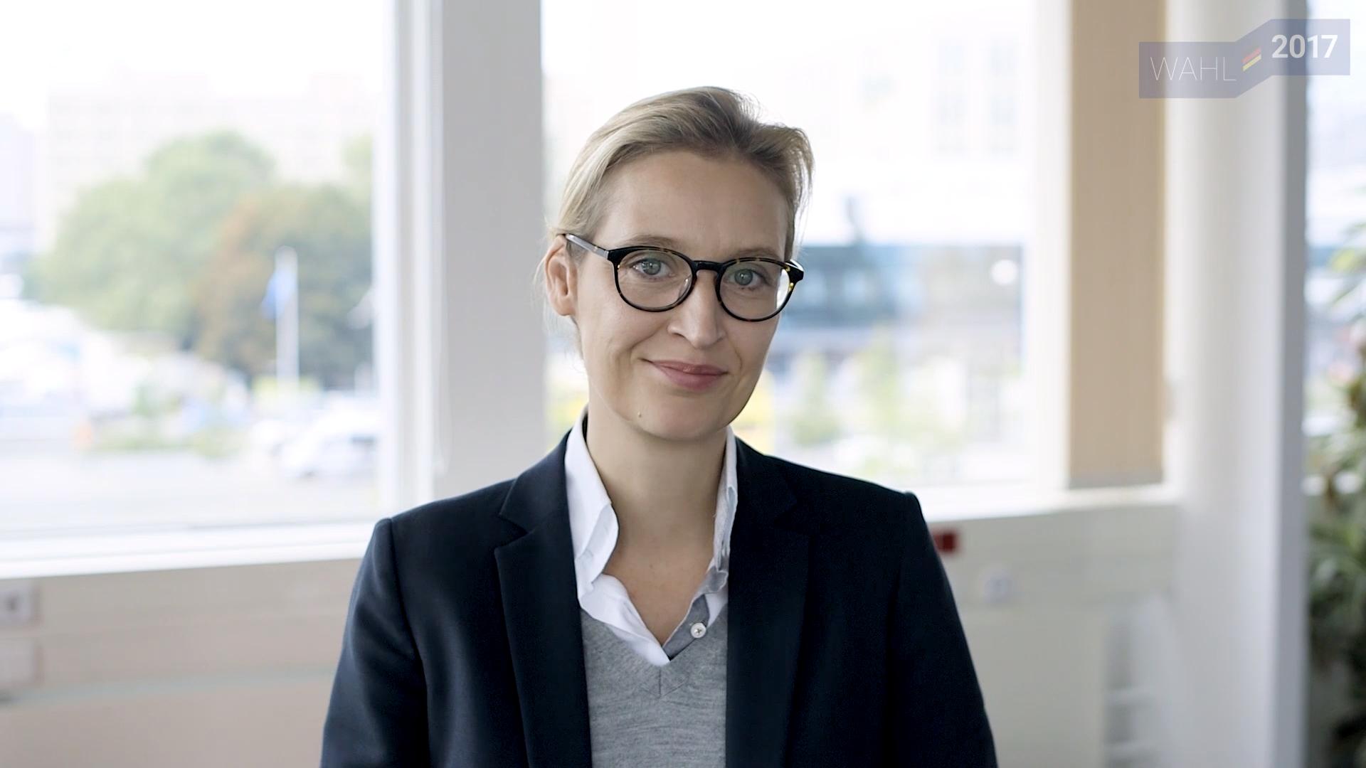Bild zu Alice Weidel, Bundestagswahl, AfD, Wahl, Interview