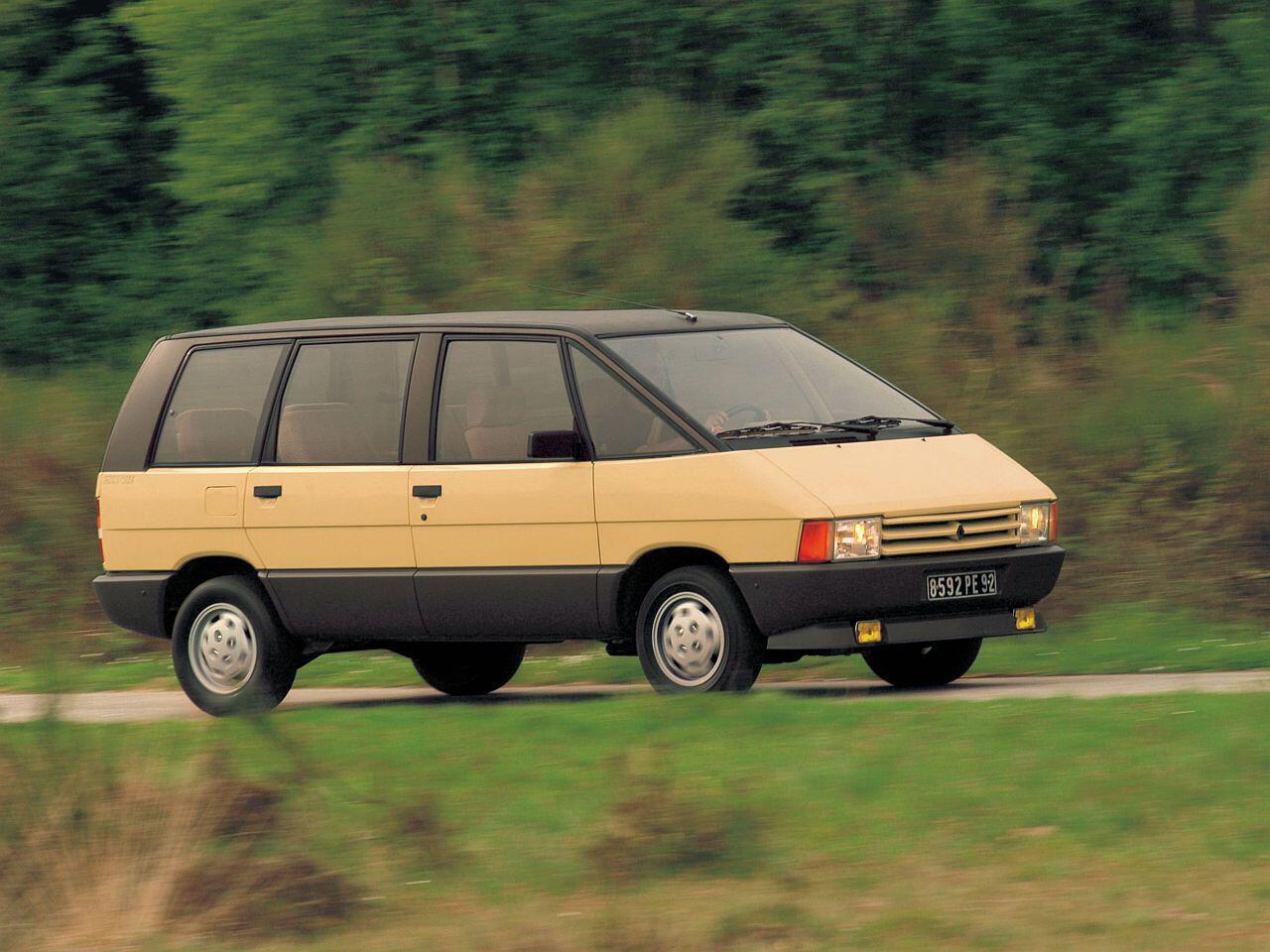Bild zu 30-jähriges Jubiläum: Die französische Großraumlimousine Renault Espace