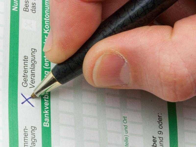 Bild zu Ausfüllen des Formulars