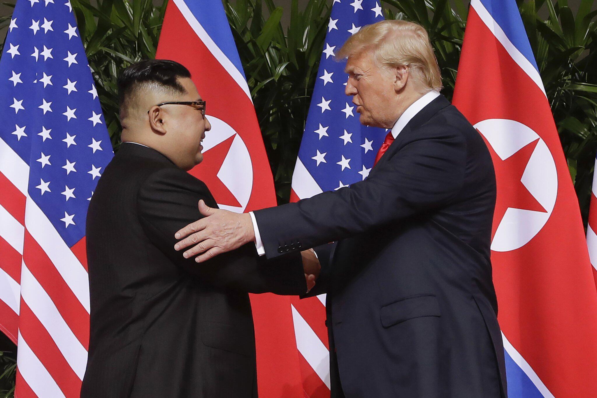 Bild zu Beziehung zwischen den USA und Nordkorea
