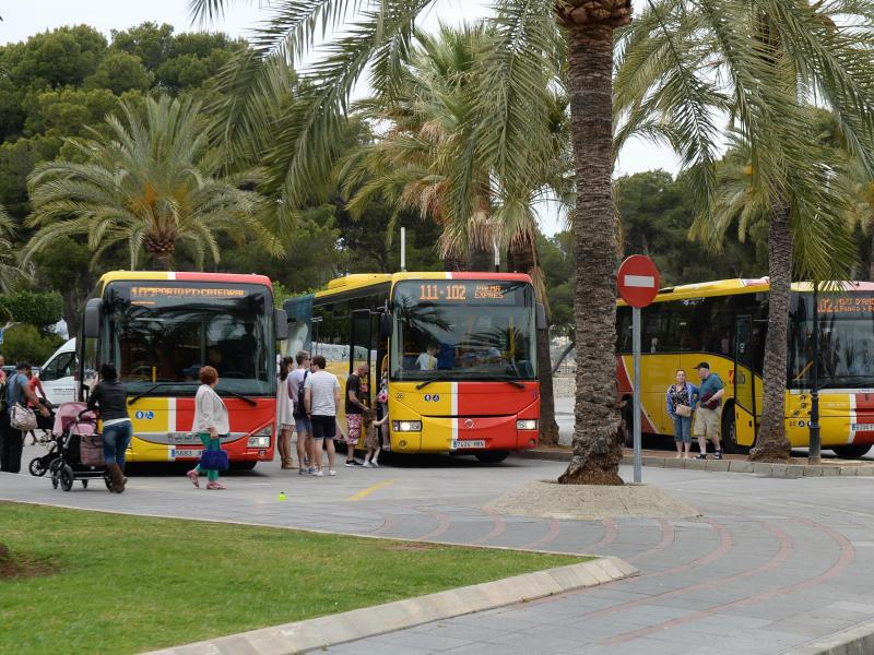 Bild zu Nahverkehr auf Mallorca
