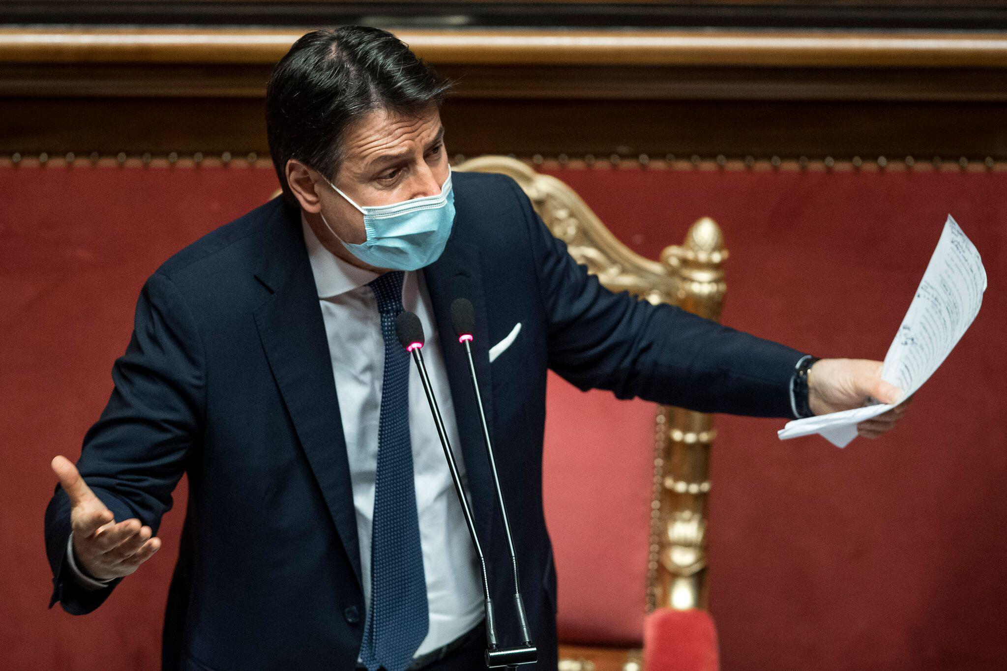 Italien - Conte tritt wie angekündigt zurück