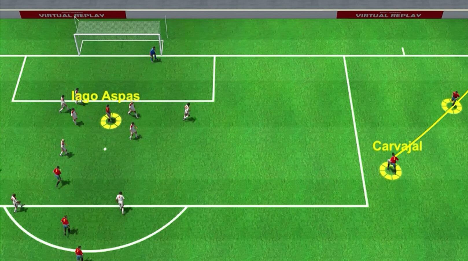 Bild zu WM, Russland, Spanien, Marokko, Iago Aspas,