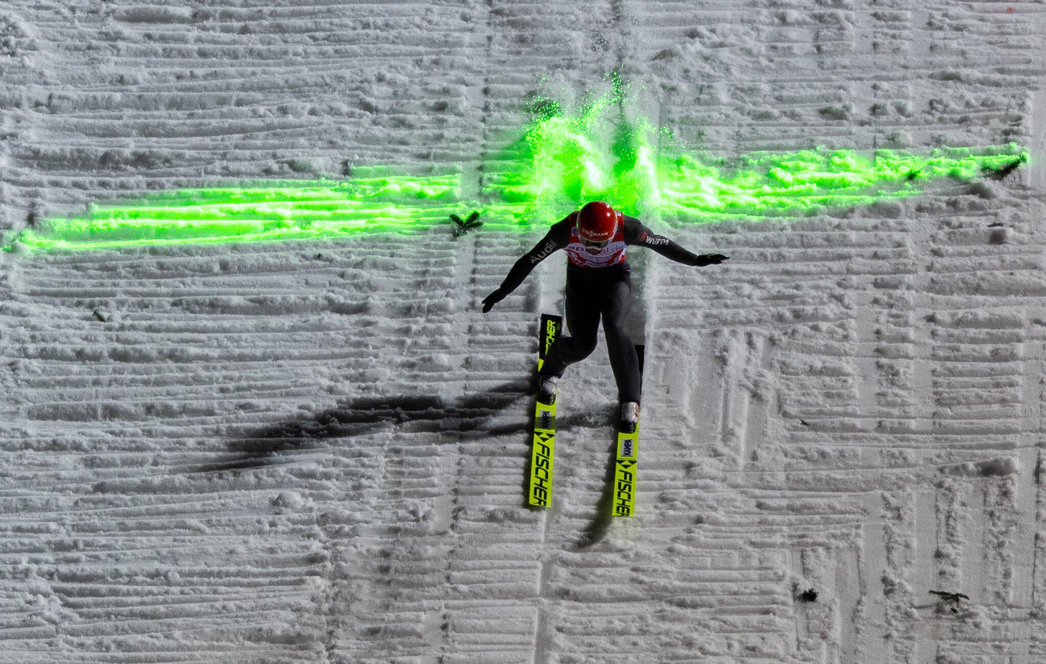 Bild zu Skispringen Weltcup