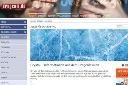 Infos über Crystal Meth