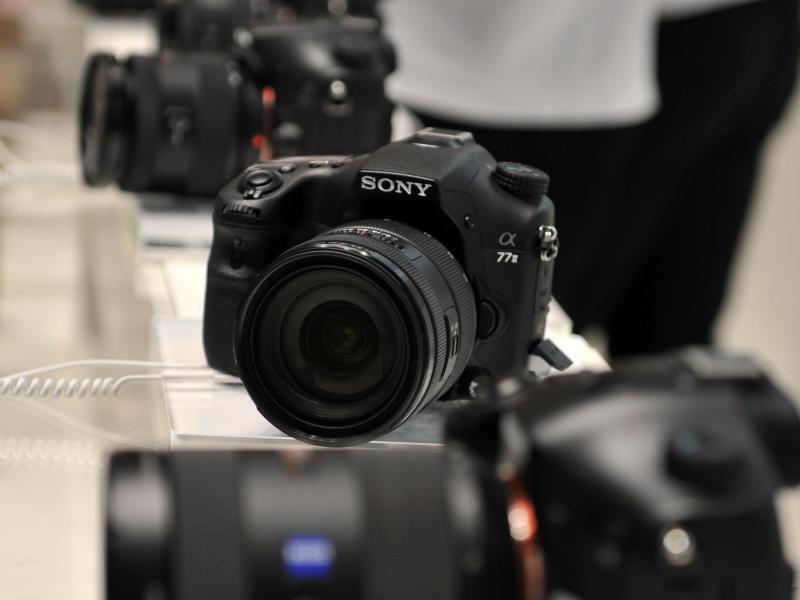 Bild zu Digitalkameras
