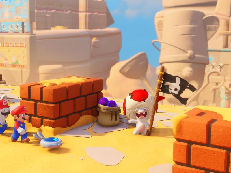 Bild zu «Mario + Rabbids Kingdom Battle»