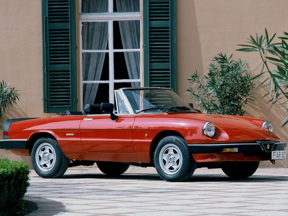 Bild zu Alfa Romeo Spider 1600