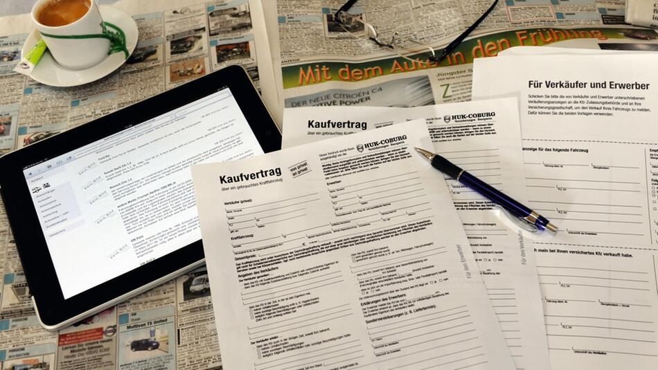 Kaufvertrag beim Gebrauchtwagenkauf: So wird der Autokauf wasserdicht