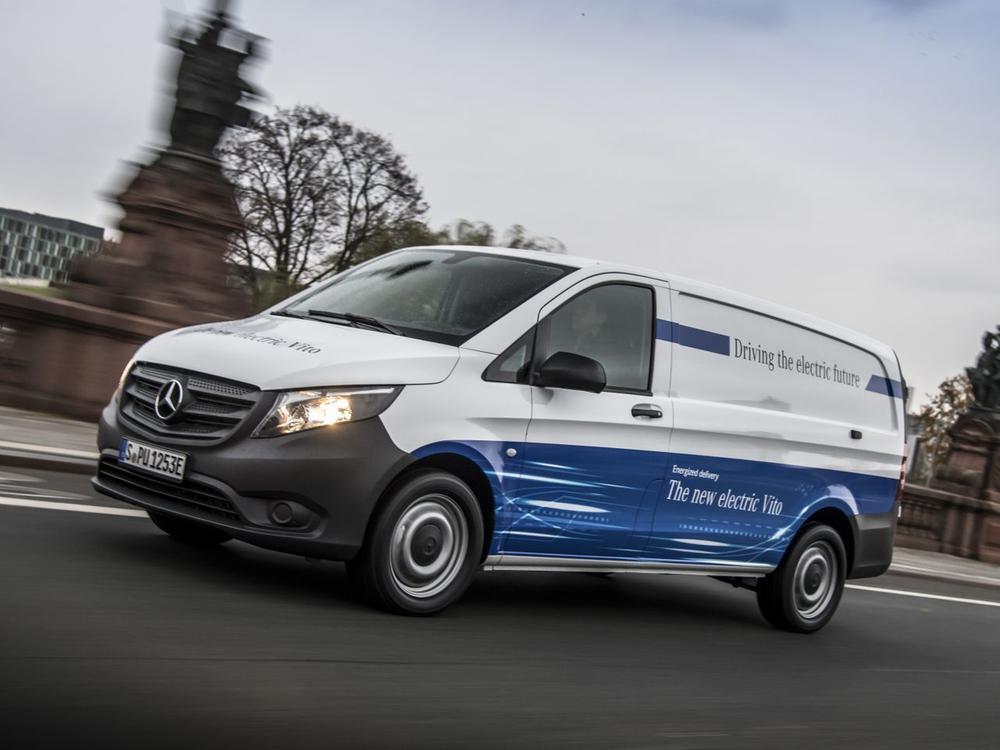 Bild zu Mercedes-Benz eVito
