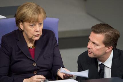 Merkel und Seibert