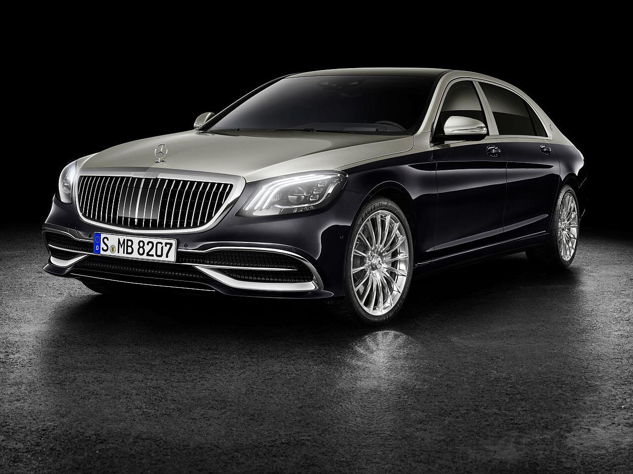 mercedes-maybach s-klasse facelift: die luxuslimousine wird noch