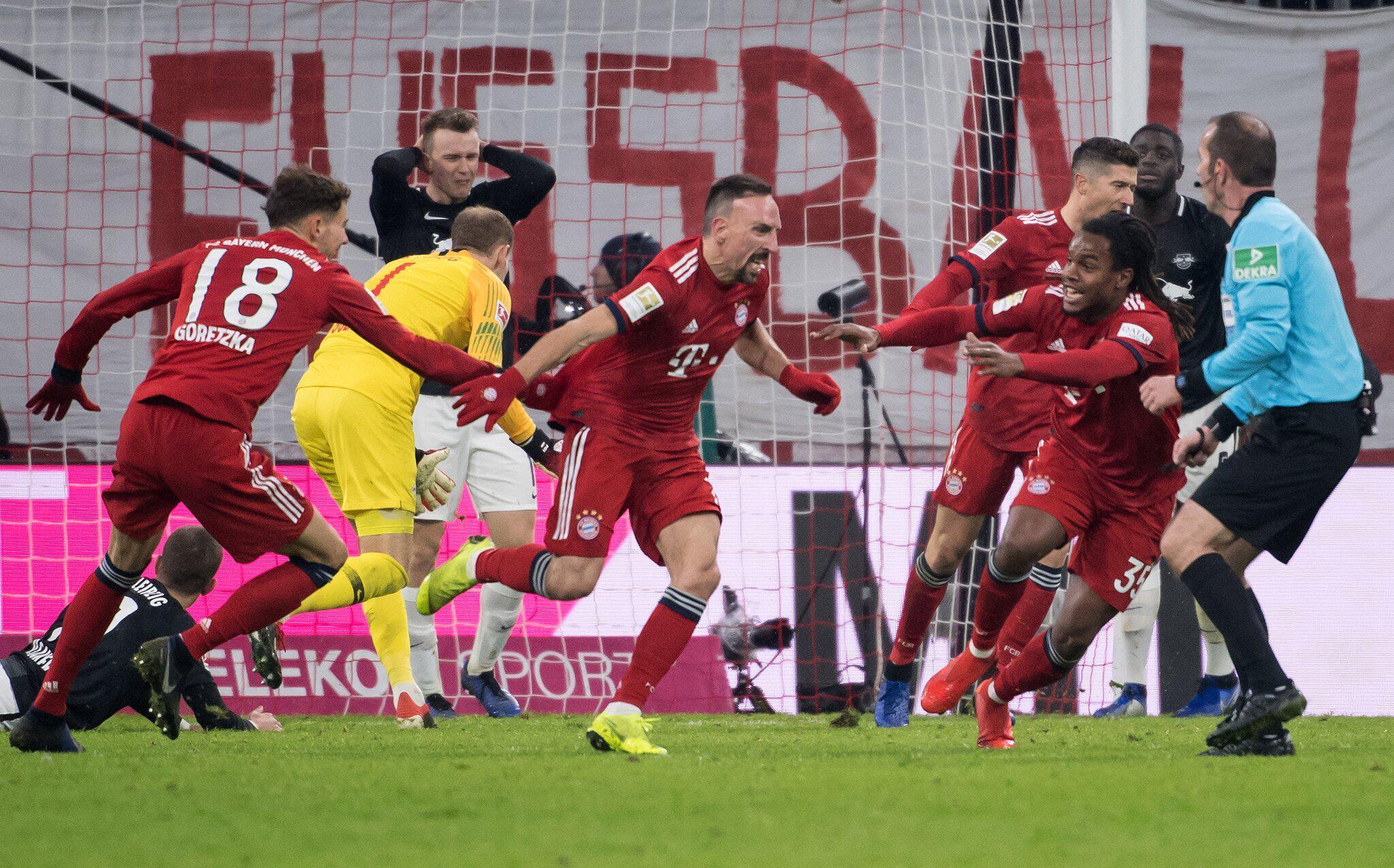 Bild zu Bayern München - Leipzig