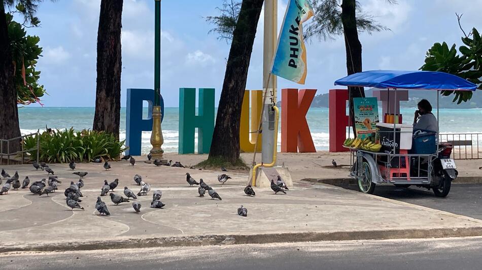 Corona-Modellprojekt «Sandbox» auf Thailands Insel Phuket