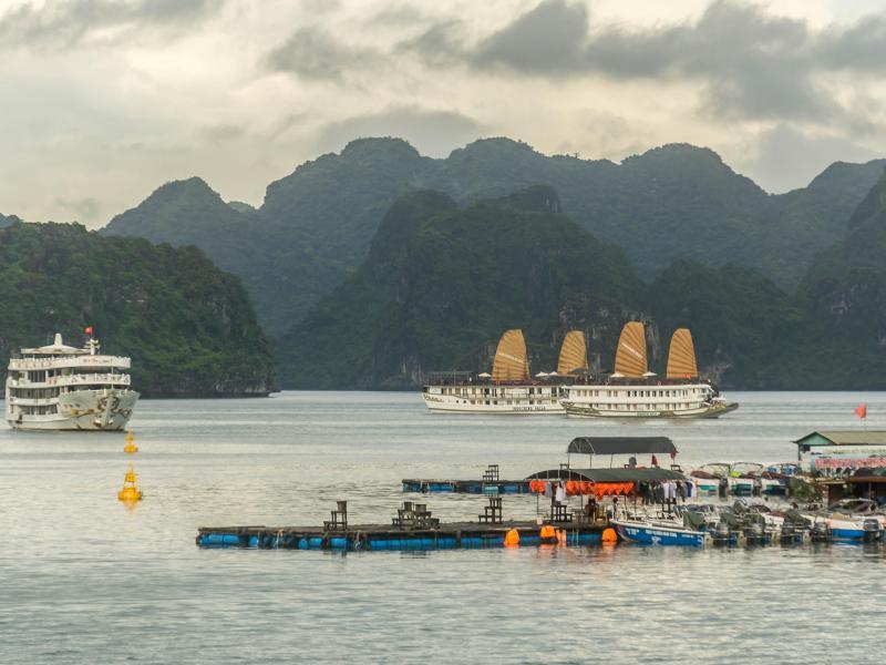 Bild zu Halong-Bucht in Vietnam