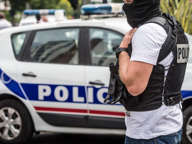 Bild zu Französische Polizei