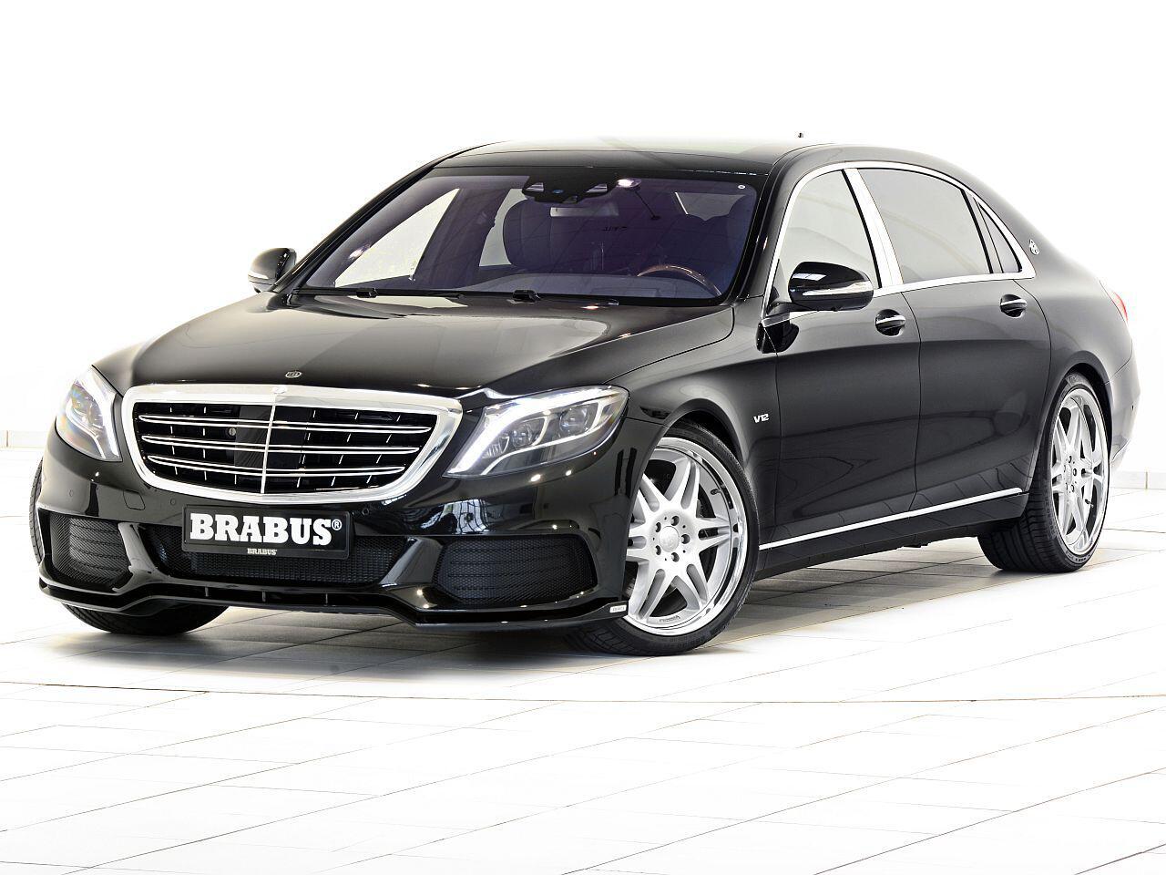 Bild zu Brabus Mercedes-Maybach