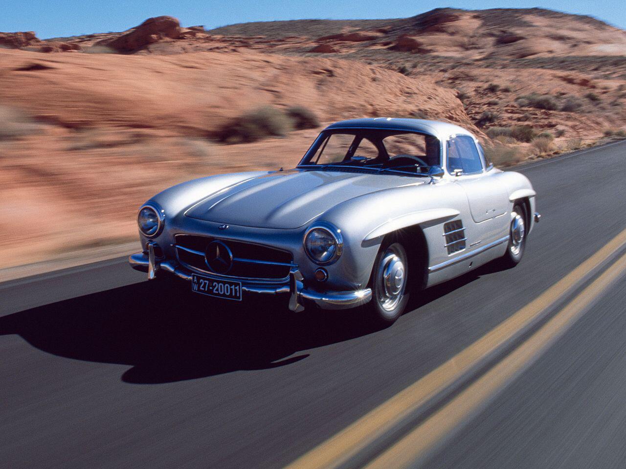 Bild zu 60-jähriges Jubiläum: Der legenderäre Flügeltürer Mercedes 300 SL